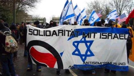 Dans ce cas-ci, pas trop l'air solidaires avec Israël