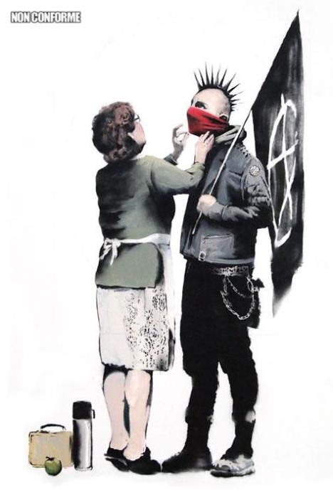 Allez mon chéri, va lutter contre le fascisme et la révolution !